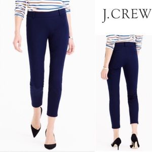 J. Crew City Fit Ankle Jeans with Side Zipper